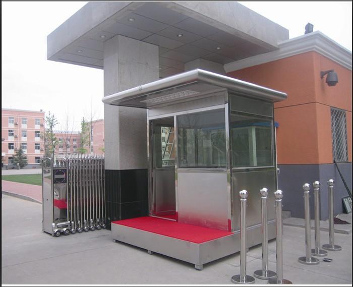 不锈钢防弹岗亭,玻璃防弹岗亭,北京防弹岗亭