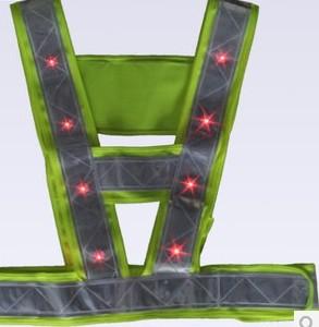 LED反光背心,警察LED反光背心,LED反光背心生产厂家