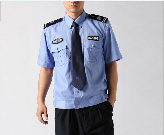 物业标准短袖保安服